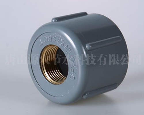 PVC铜内螺纹管堵