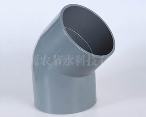 PVC45°弯头